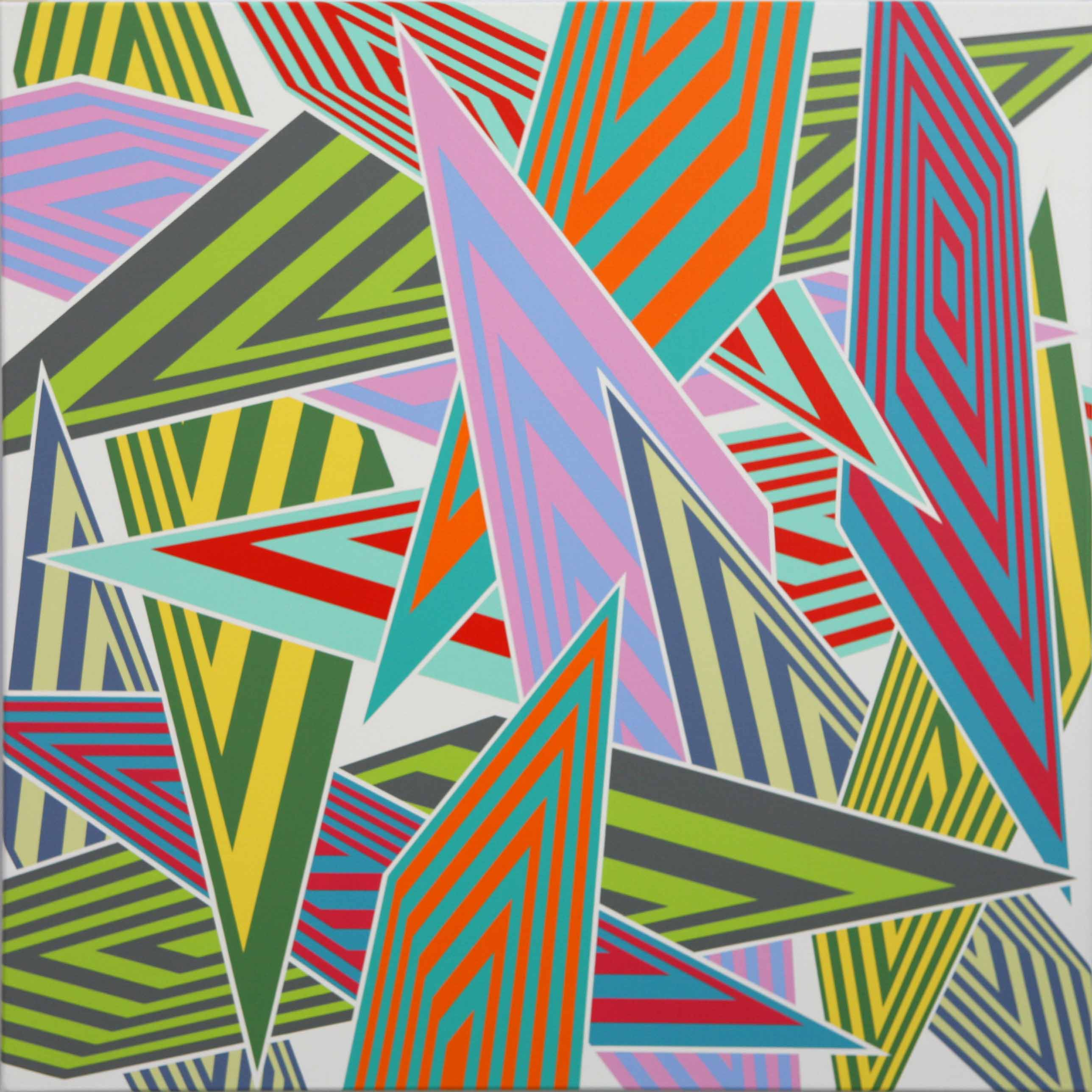 Sara Hughes in Perception: Colour/Line/Pattern at the Arvada Centre, Colorado