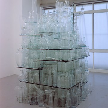 Clear Glass Stack