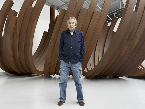 Bernar Venet keynote speaker at the International Sculpture Symposium