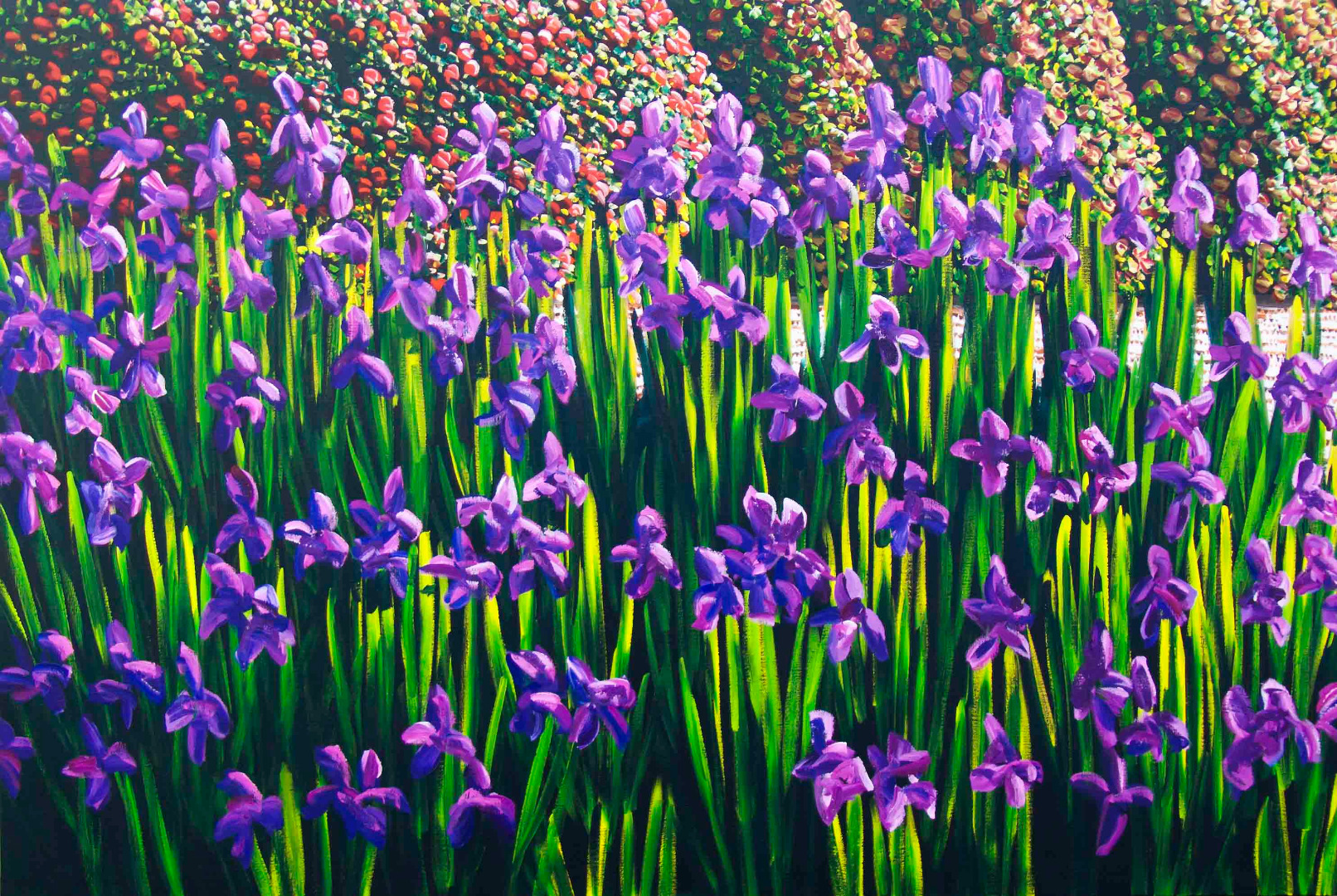 Karl Maughan's major garden paintings