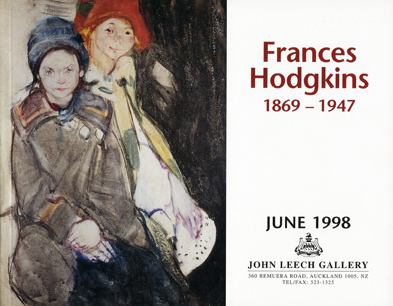 Frances Hodgkins: June 1998