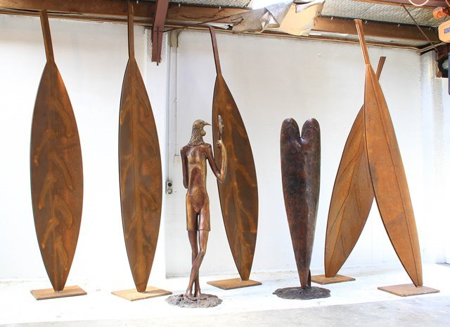 Paul Dibble sculpture