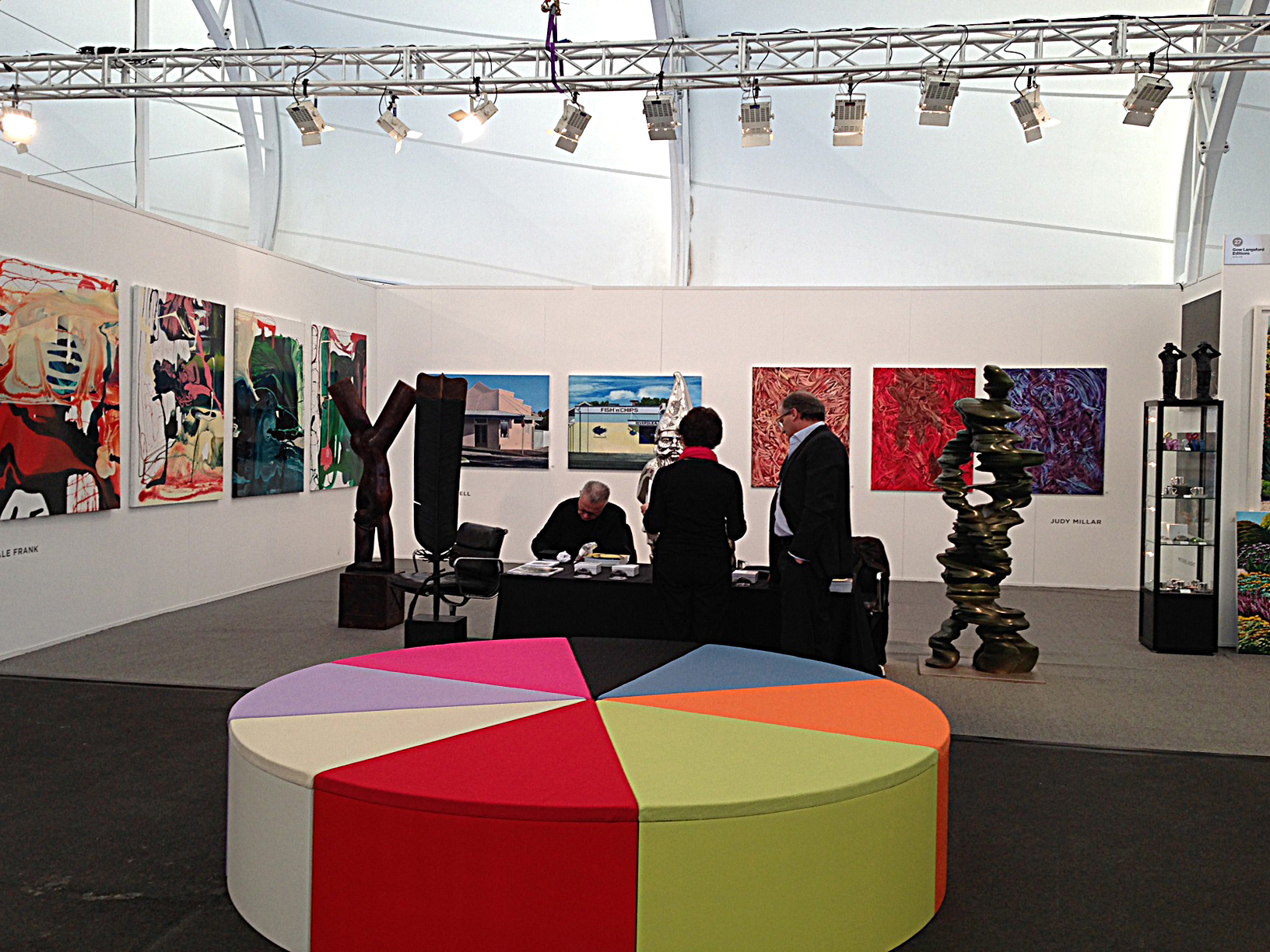 Gow Langsford at Auckland Art Fair 2013
