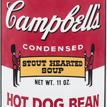 Campbell's Soup Can II - Hot Dog Bean #59