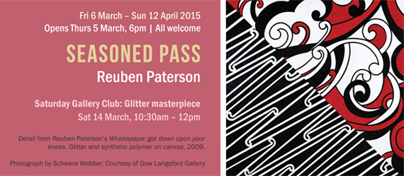 Reuben Paterson at Corban Estate Arts Centre