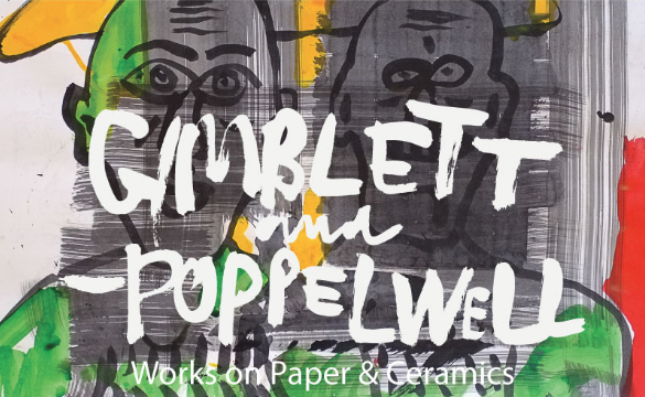 Max Gimblett and Martin Poppelwell collaborate on a exciting new series for WORKSHOP