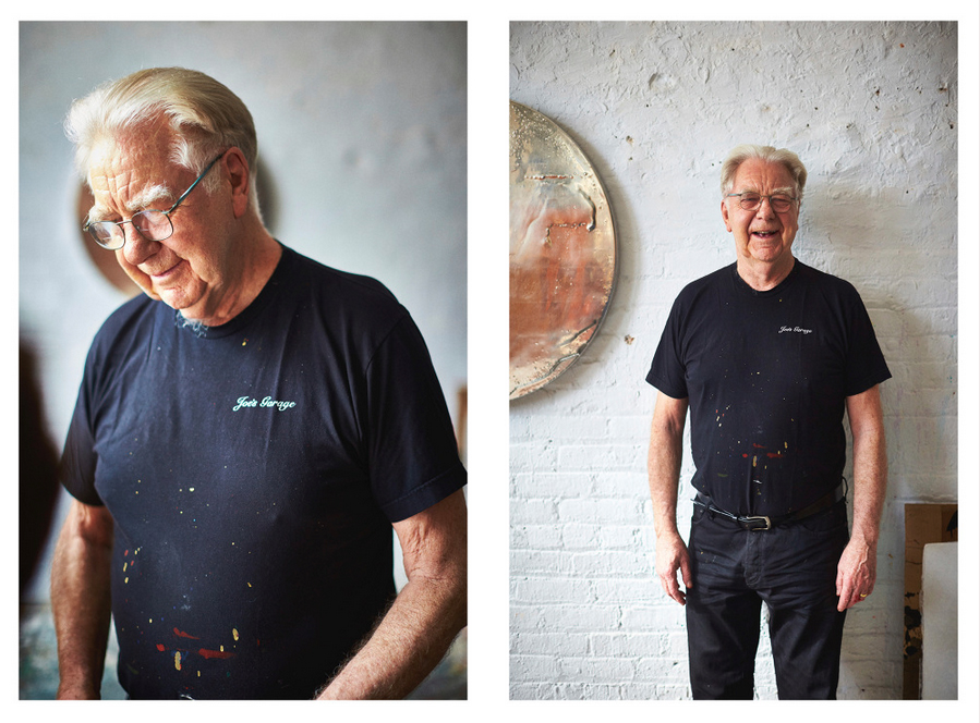 Max Gimblett, featured on 'Where they Create'