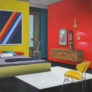 Untitled (Red, Yellow and Blue Room)