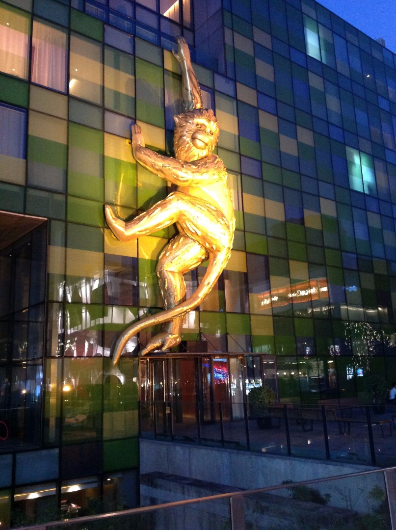 Lisa Roet's Golden Monkey in Beijing
