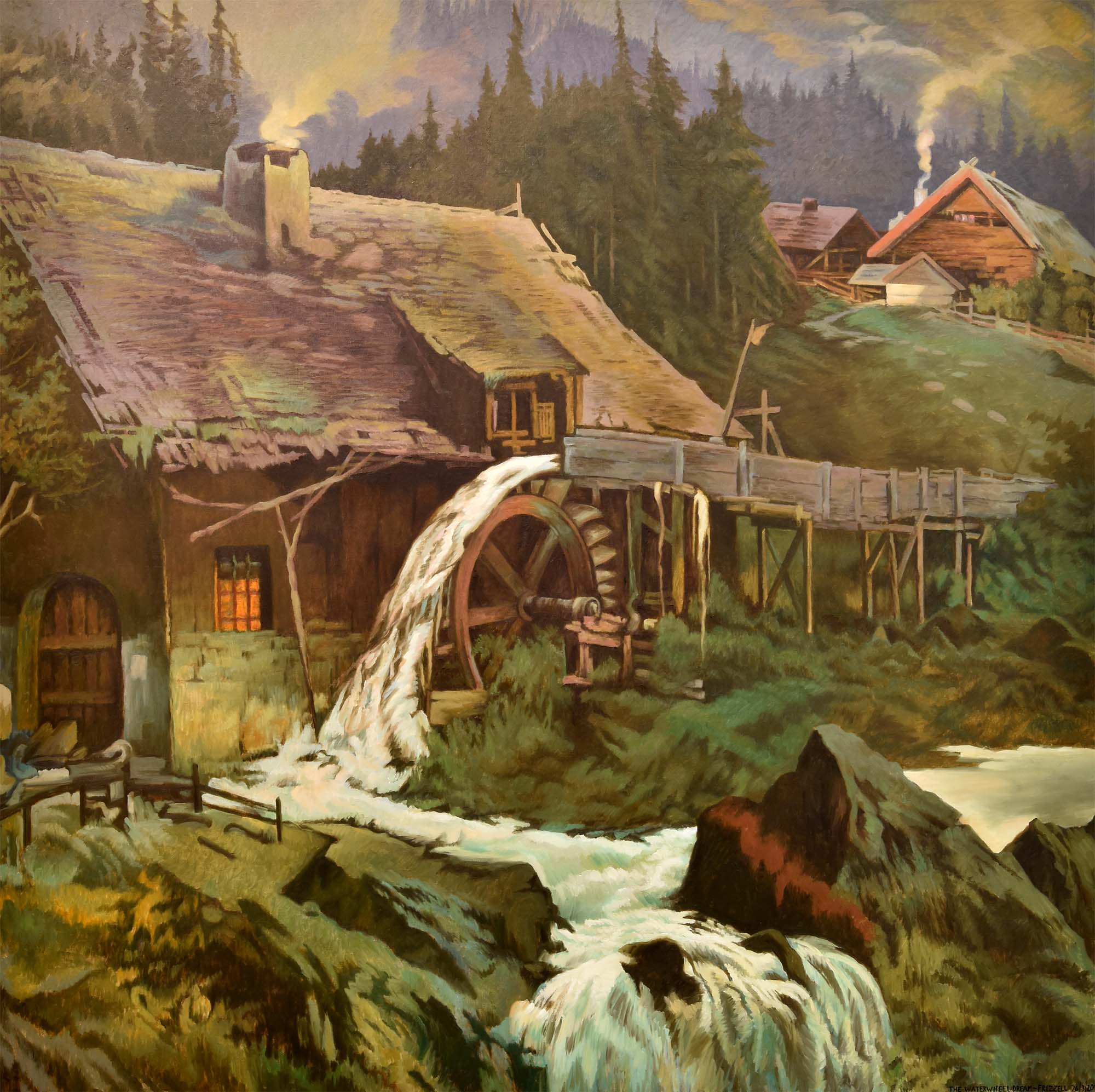 The Waterwheel Dream