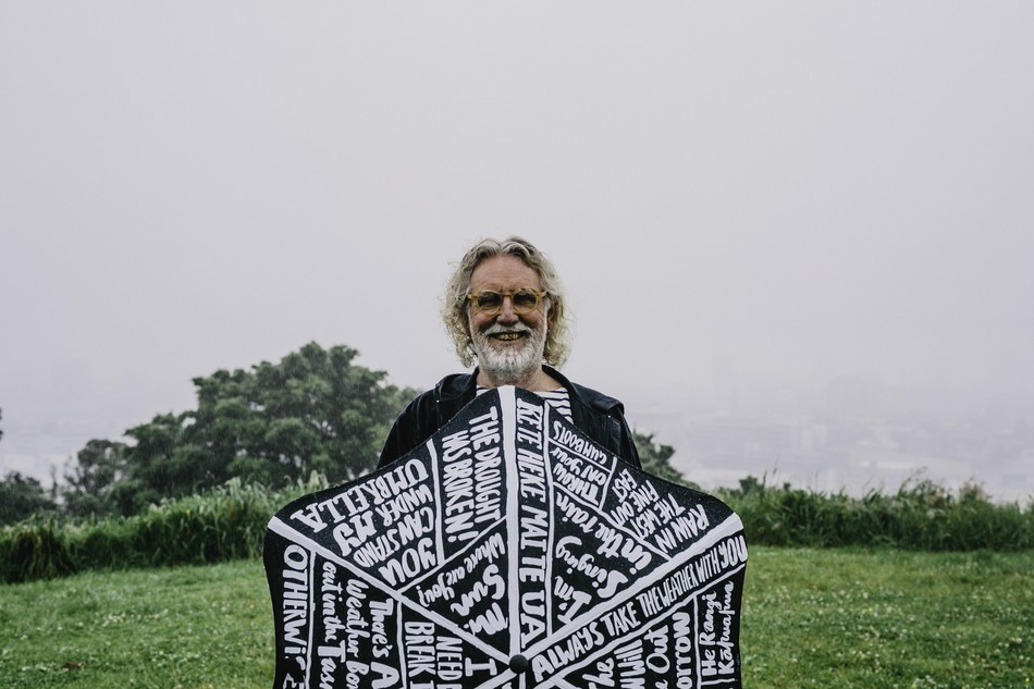 Dick Frizzell teams up with Blunt Umbrellas and Oxfam NZ