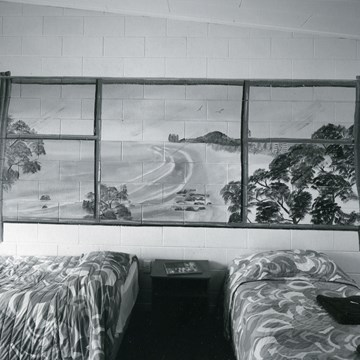 Motel interior, Tauranga, 27 March 2015