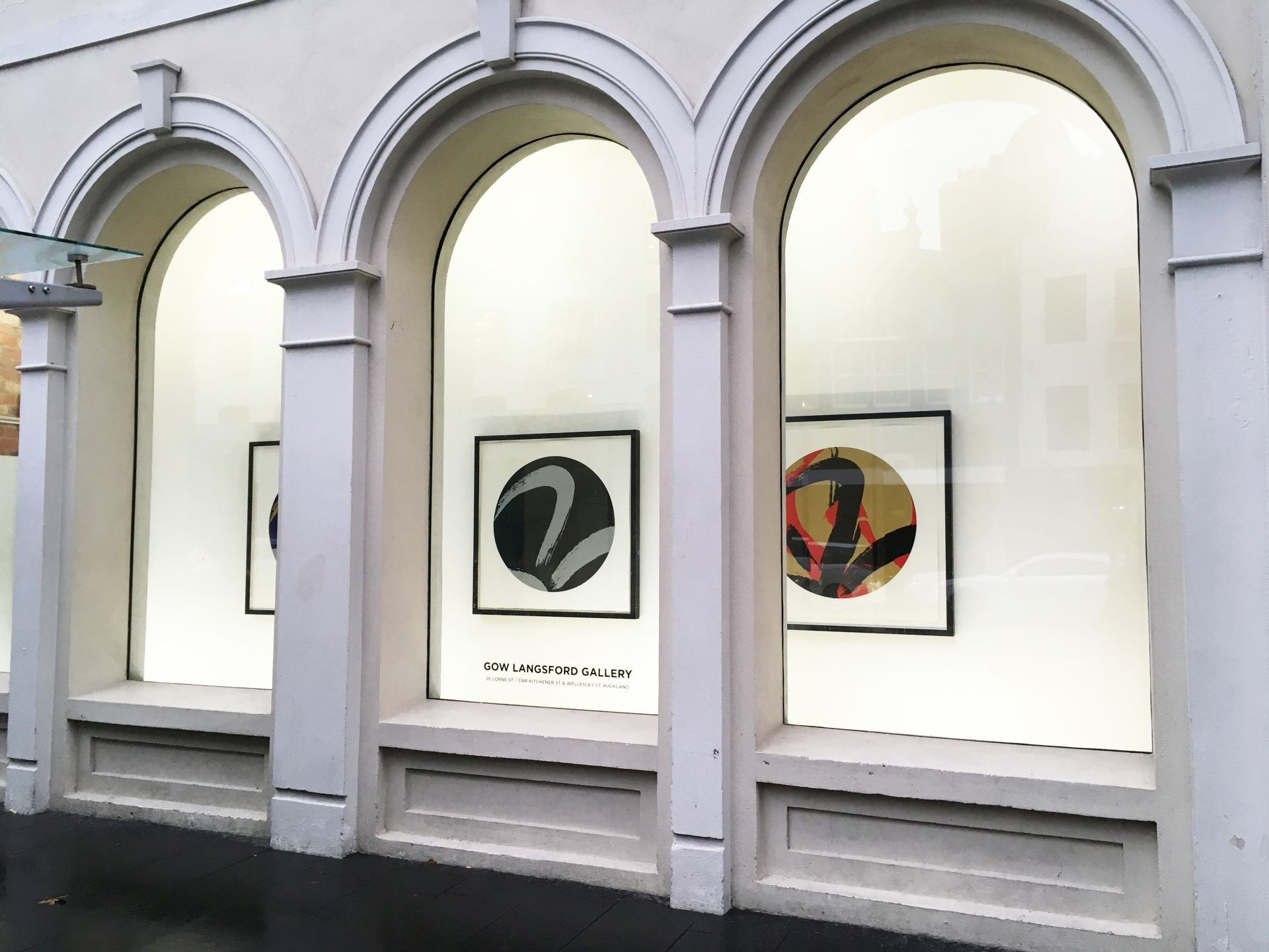 Max Gimblett at Britomart Project Space