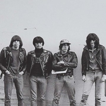 Ramones, Christchurch, 24 July 1980 (2)
