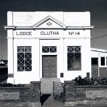 Lodge Clutha #14, Baclutha, Otago, May 1979