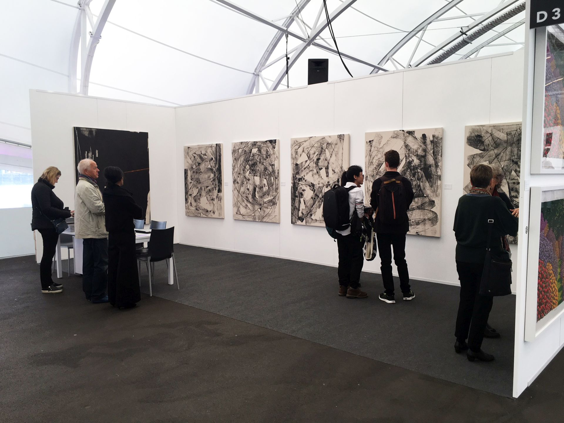 Hugo Koha Lindsay at Auckland Art Fair 2018