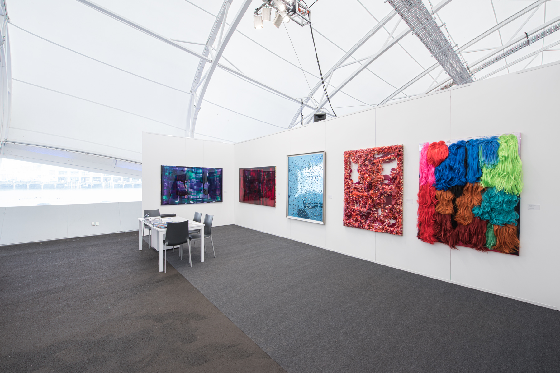 Dale Frank at Auckland Art Fair 2018