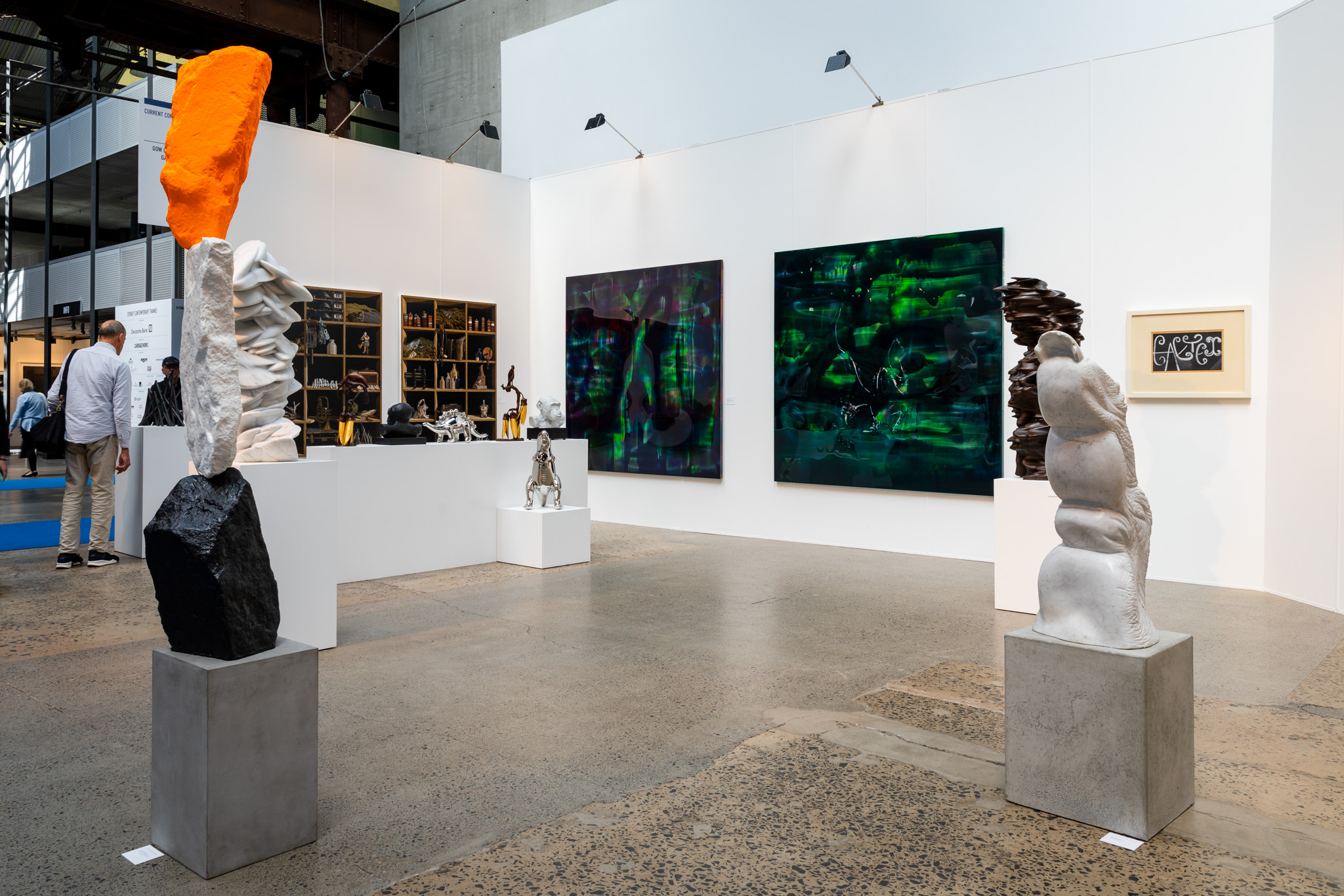 "Gow Langsford Gallery - One of the ""stronger booths"" at Sydney Contemporary 2018"