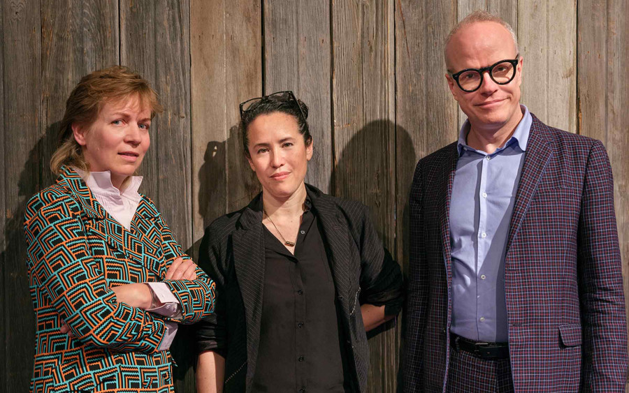 Katharina Grosse in Conversation with Hans Ulrich Obrist & Sarah Sze