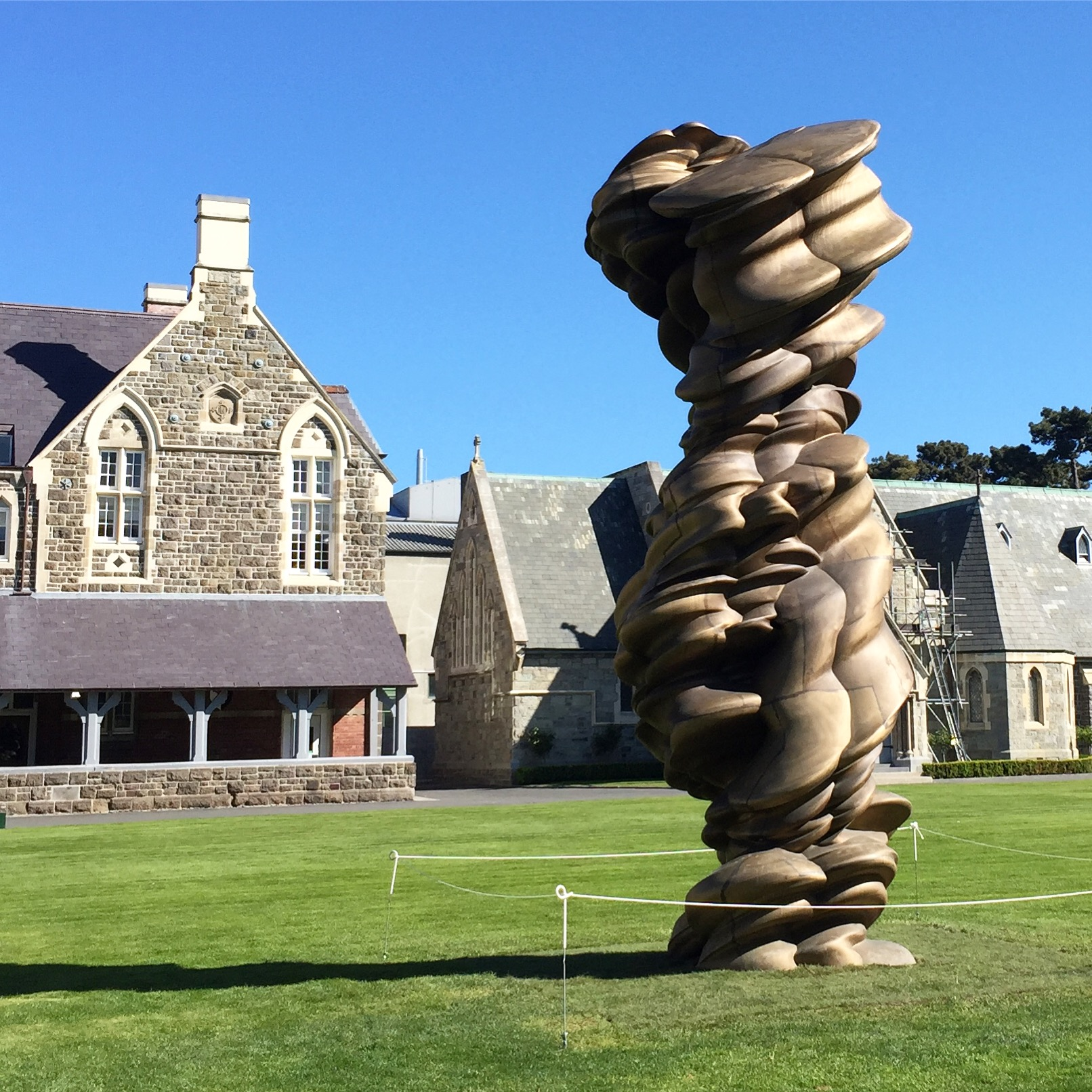Tony Cragg in SCAPE Public Art Festival, Christchurch