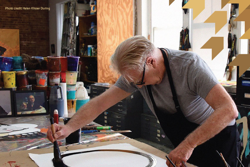 Max Gimblett to host Sumi Ink Workshop at AUT