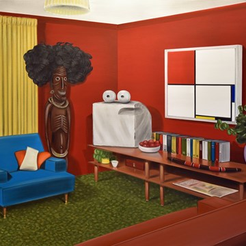 Untitled (Red Room)