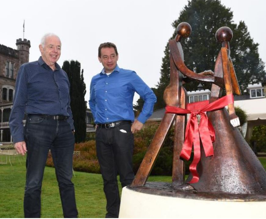 Paul Dibble Sculpture Unveiled in Dunedin