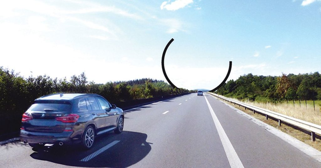 Bernar Venet's Arc Majeur Set to Become Europe's Largest Public Artwork