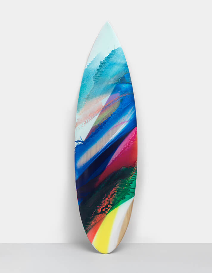 Katharina Grosse Creates Surfboards with Parley For The Ocean