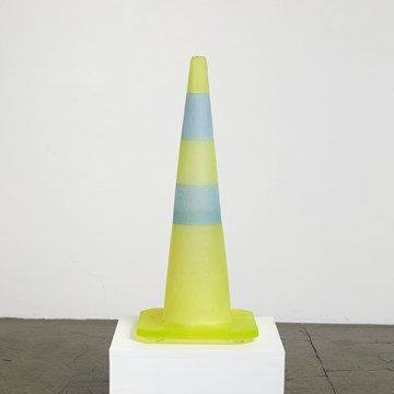 Road Cone (Yellow/Blue)