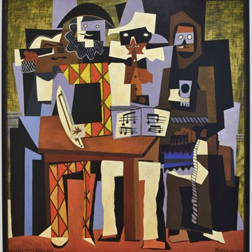 Picasso's Three Musicians