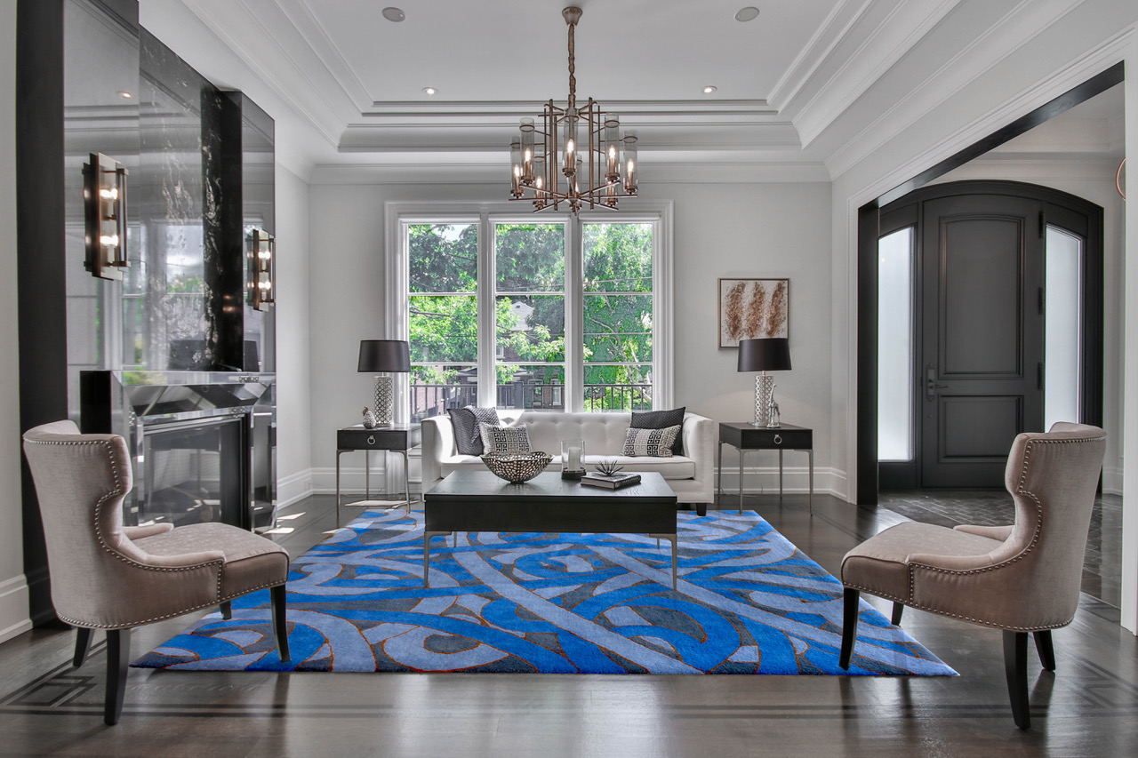 Reuben Paterson Rug Collaboration with Dilana